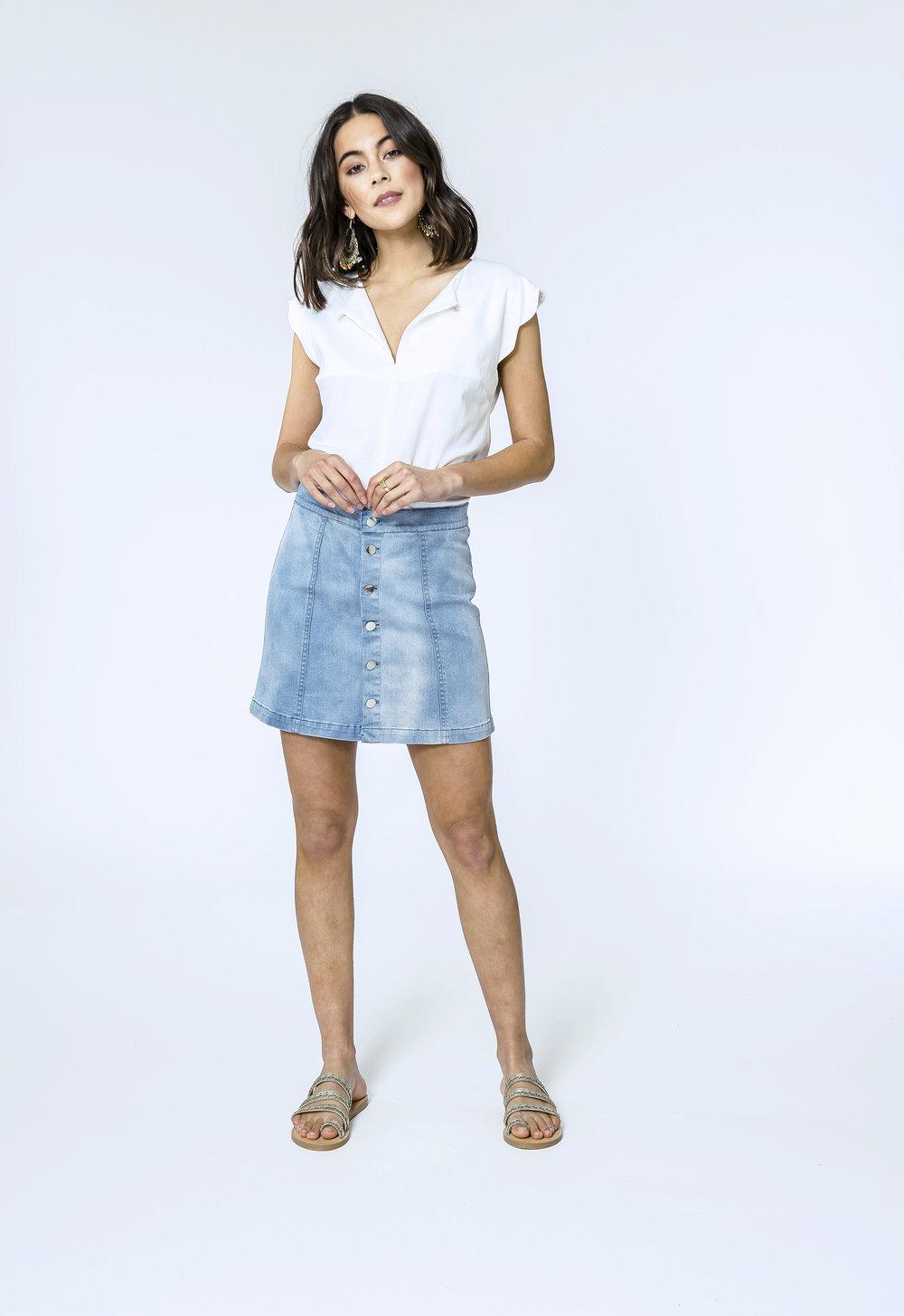 Katherine Top & Danika Skirt