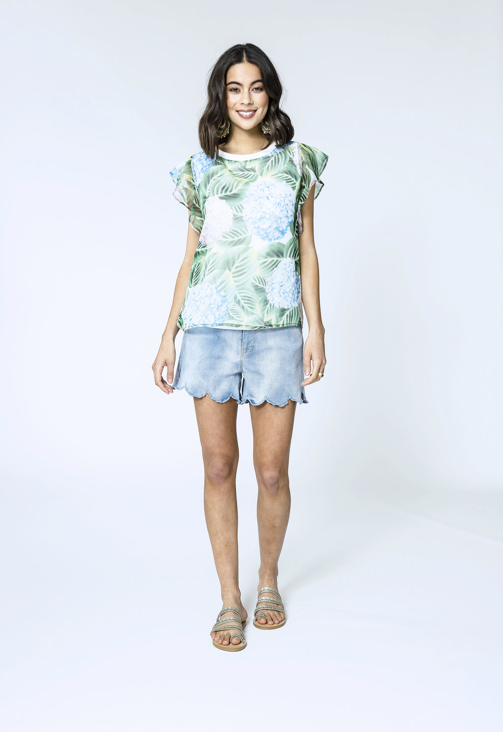 Alina Top & Lara Shorts