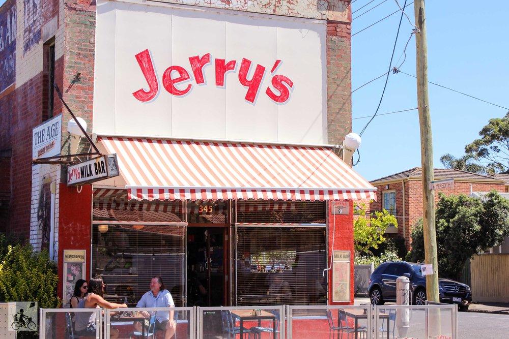jerrys milk bar, elwood- mamma knows south