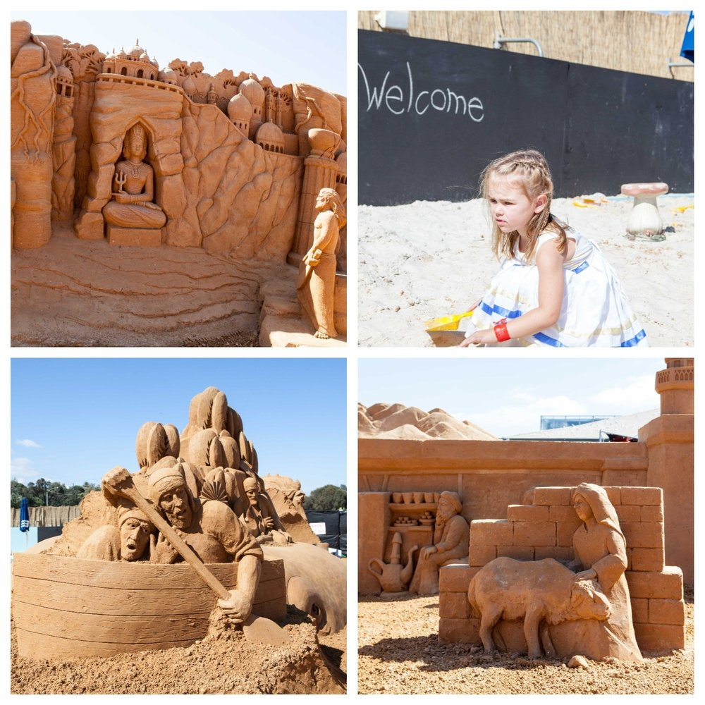 mamma knows south - sand sculpting, frankston waterfront