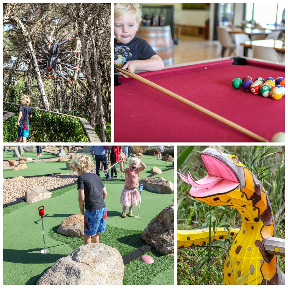 mamma knows south - boneo maze and mini golf, fingal