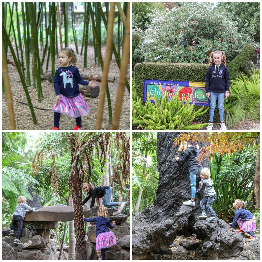 ian potter childrens gardens @ RBG , Mamma Knows South