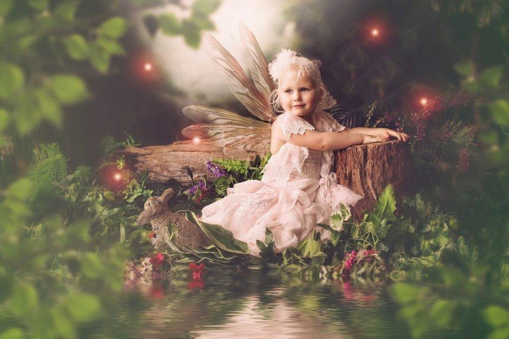 garden babies fairy art - mamma knows south