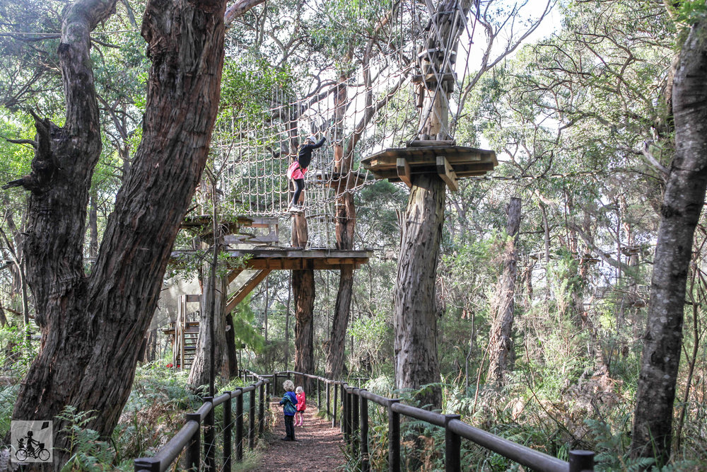 the enchanted adventure garden, arthurs seat - mamma knows south