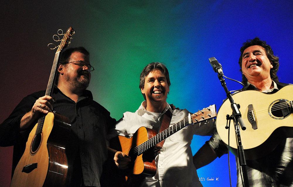 Performing in Hersbruck, Germany