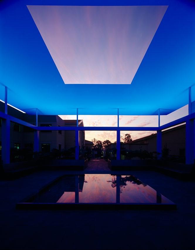 James Turrell, Skyspace, Pomona College