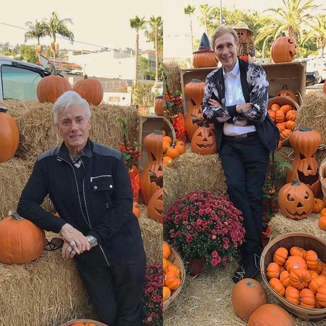 Getting a head start on Halloween! 🎃 #gaycouple #gaymarrige #documentary #documentyourdays #documentaryfilm #westhollywood #weho #instafun #celebratelife #lgbt #halloween #pumpkins #fall #live #love #anordinarycouple
