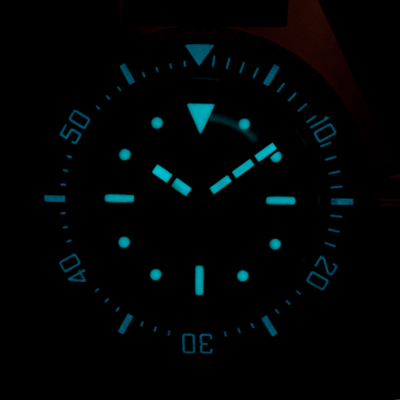 Lume shot Paradive Sapphire Inlay