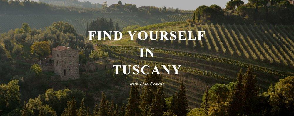 www.findyourselfintuscany.com