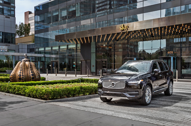 - It was a great idea to take automotive photography when Ines' was a student at Brooks Institute of Photography. That knowledge came in handy when she was tapped to photograph the luxurious modified Volvo XC90, which will chauffeured the penthouse residents.  read more