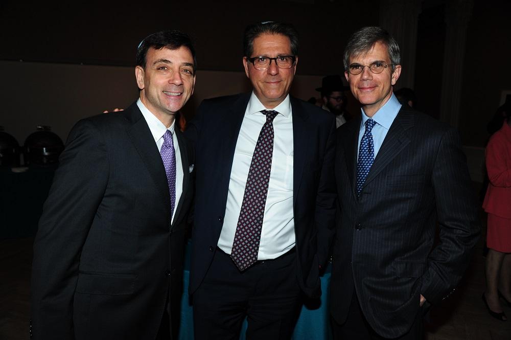 Stephen Wald, Charles Glatter, Dr. Warren Hammerschlag