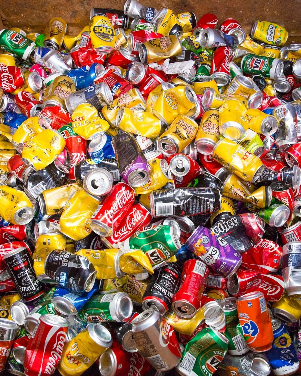 Beer/Soft Drink CanS: 200-500 Years - A soft drink can takes somewhere between 200-500 years to decompose! That is a long time for a very small piece of aluminium. Recycling just one can not only saves hundreds of years of biodegrading, it also saves enough energy to power a TV for three hours