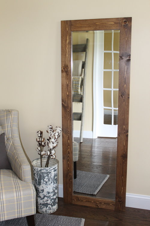 Rustic Full Length Mirror — The Minted Vintage