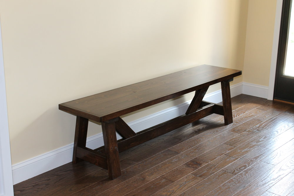 Farmhouse Bench (5')