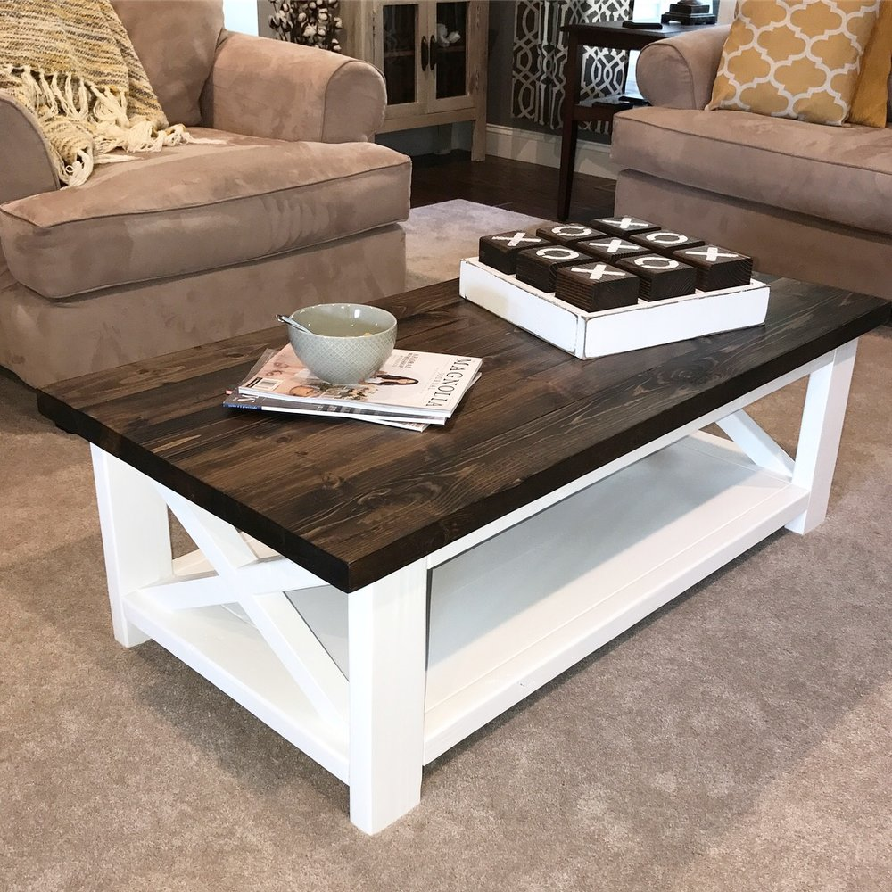 Coffee Table (Two-Toned)