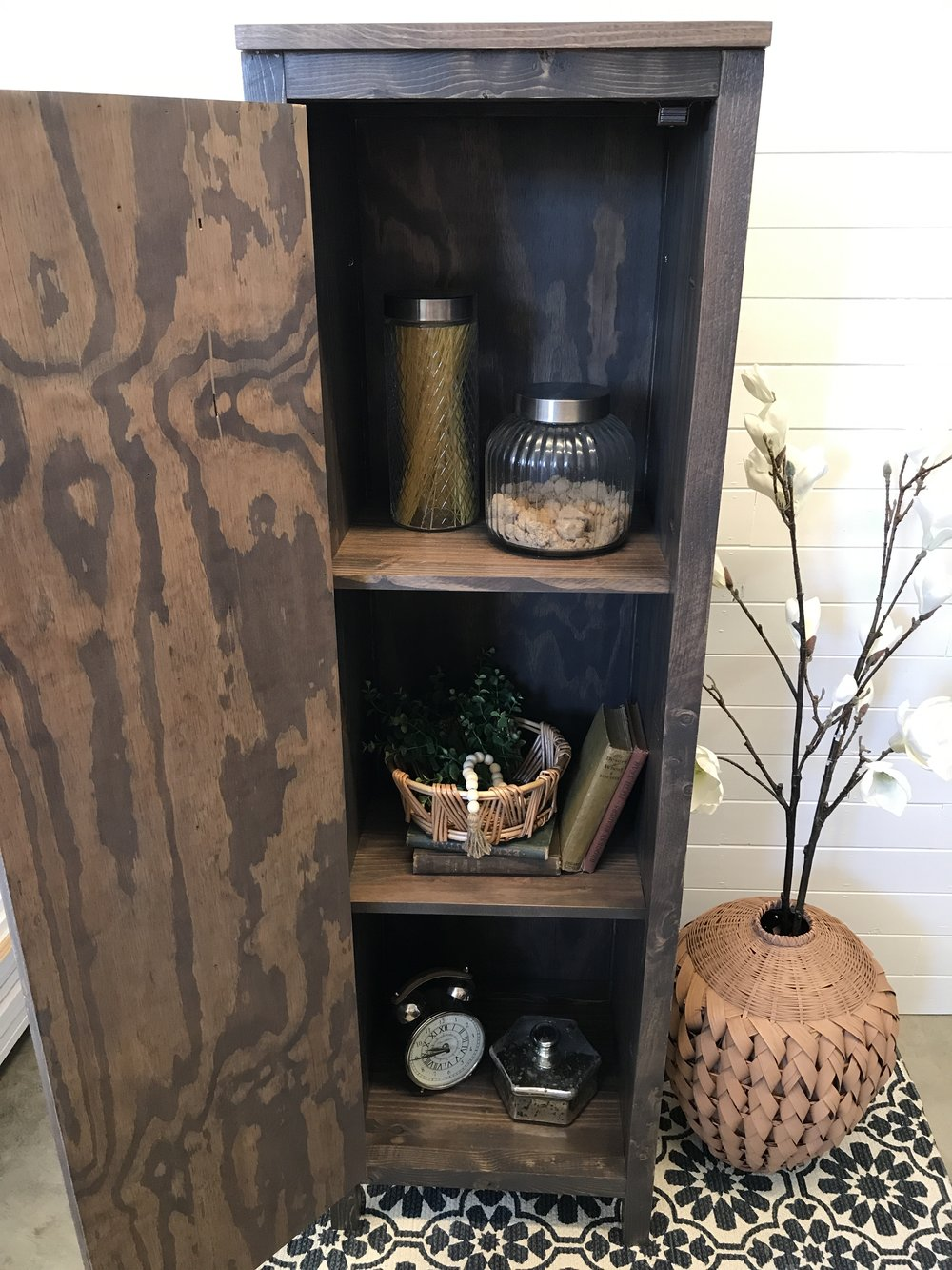 5' Tall Cabinet