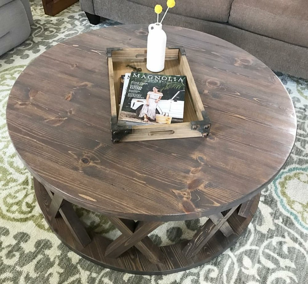 Coffee Table (Round X)