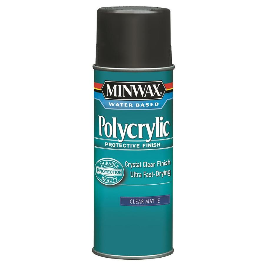 5. Polycrylic - Technically this step is optional. Top coats are usually just used for things that get a lot of wear and tear. But if you really love you work, use this to protect the design! TIP: Try to get an even coat, don't spray too close or too far away (About 6 inches away is a good distance) It dries fast and clear and should only take one coat. If you want it to be smooth then lightly sand in between coats.