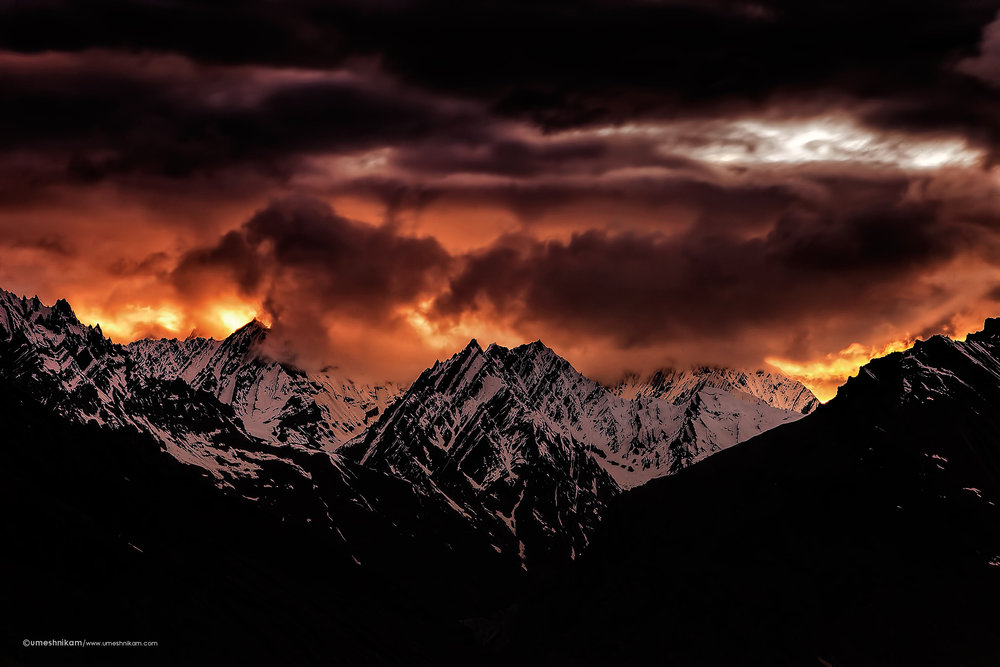 umeshnikam_spitivalley_sunset