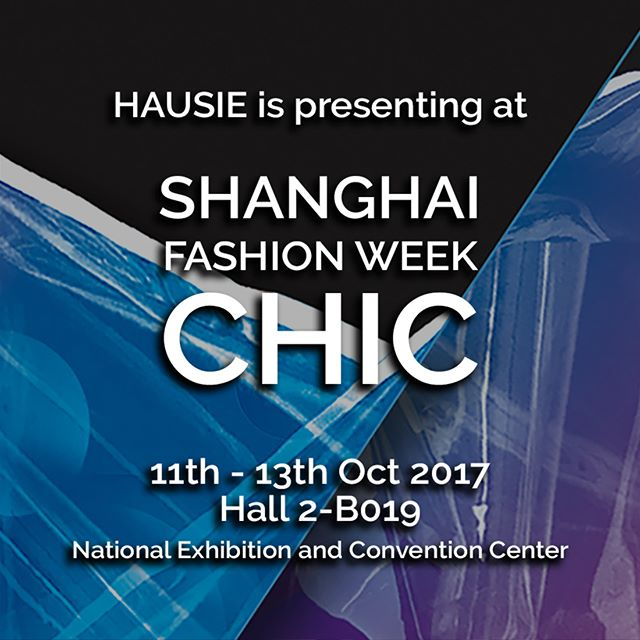 Next week, HAUSIE will be participating Shanghai Fashion Week with CHIC - the largest and most influential fashion show in Asia. CHIC has more than 125,000 trade visitors from 20 countries and regions. Drawing in the top buyers from first tier cities. Find us at Hall 2-B019. . . . . #tradeshow #ss18 #shanghaifashionweek #chic #wholesale #fashion #shanghai #work #networking #chicshow #chicshanghai #event #invitation #fashionevent