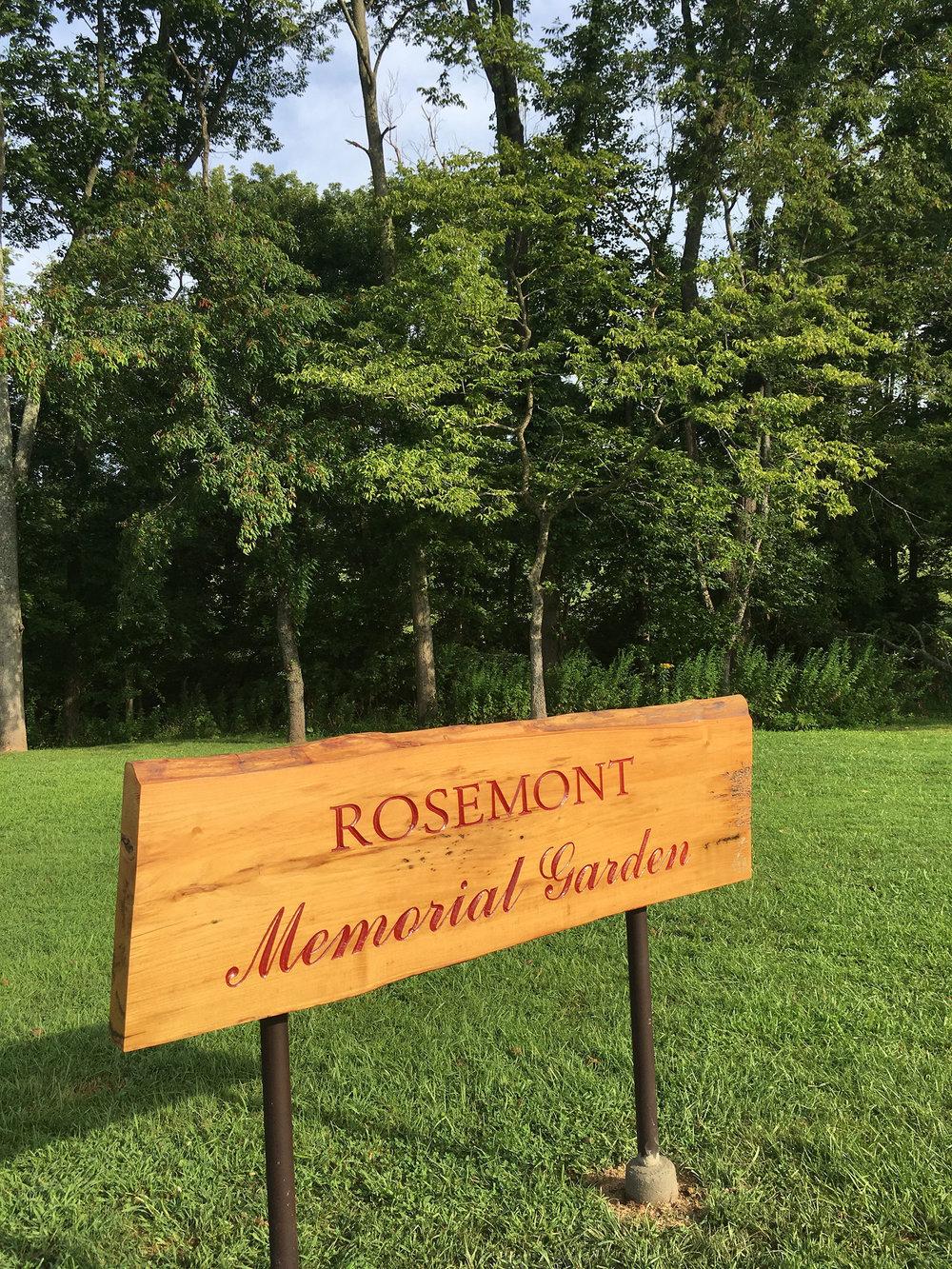 Rosemont Memorial Garden - Green Burials