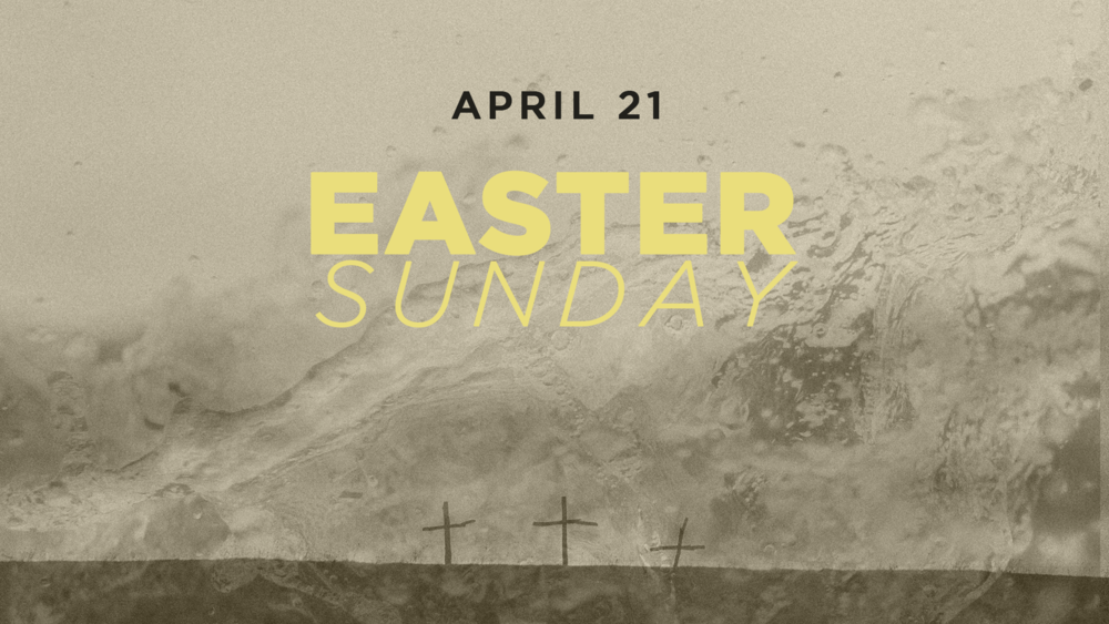 WHO WILL YOU BRING? - Easter Sunday is an exciting opportunity to invite someone new to church, who wouldn't usually come. We're asking that you join us in prayer for those individuals and families who will join us on this special day. Our prayer is that 100 people will take the next step in their walk with Jesus through baptism. We cannot wait to see lives transformed this Easter weekend.