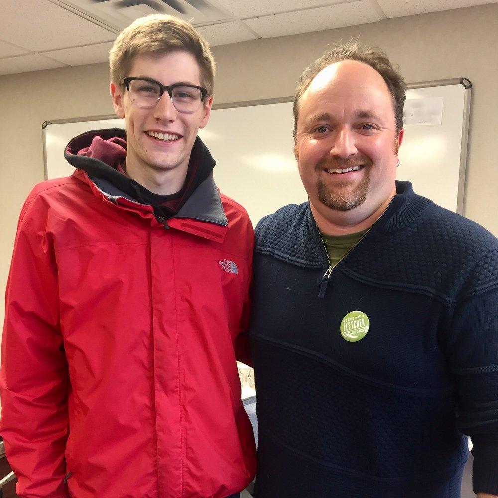 Grant Simons, U of M Student -