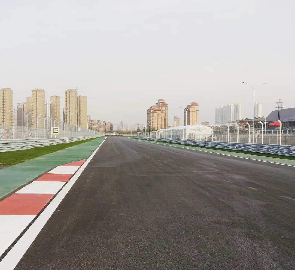 The brand new Tianjin circuit ready for action