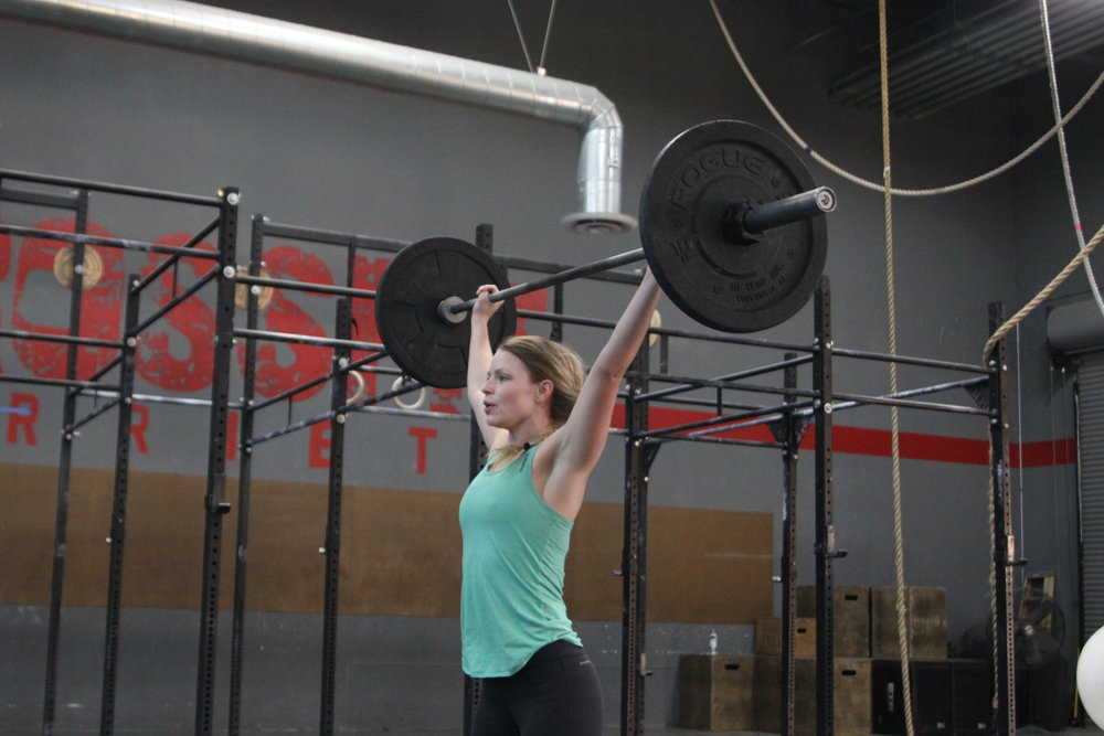 7.  What is your most recent PR? What is your next goal?   My most recent PR was a C&J at 125.  My next goal is to get a bar muscle up.      8.  What keeps you coming back to CFM to achieve your goals?   The Camaraderie and the coaches keep me coming back to Crossfit Murrieta.  I love the challenges as well as the motivation that they provide.        9.  Any advice to those who are just starting out?   Have fun and enjoy the ride.  Show up and do the work and the results will follow. Always push yourself and don't be afraid to ask for help or advice.