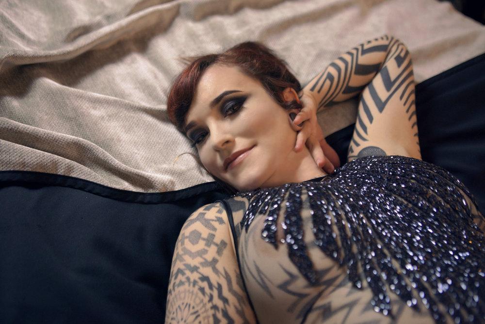 Erotic Enchantress Geninune Luxury GFE girlfriend experience tattooed tattoo escort, disability friend escort