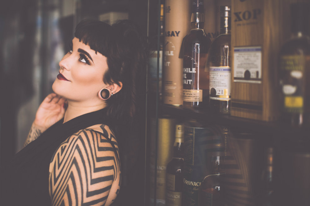 Tallula Darling suicide girl tattooed escort gfe Sydney alternative escort Hobart
