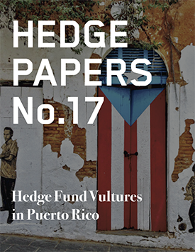 Hedge Fund Vultures in Puerto Rico