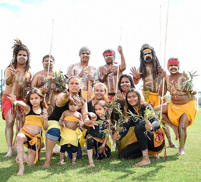 Come check out the Yerongpan and Yugara Dancers at the Wintergarden stage in Brisbane City! 👣 12:00 noon today ✊🏾