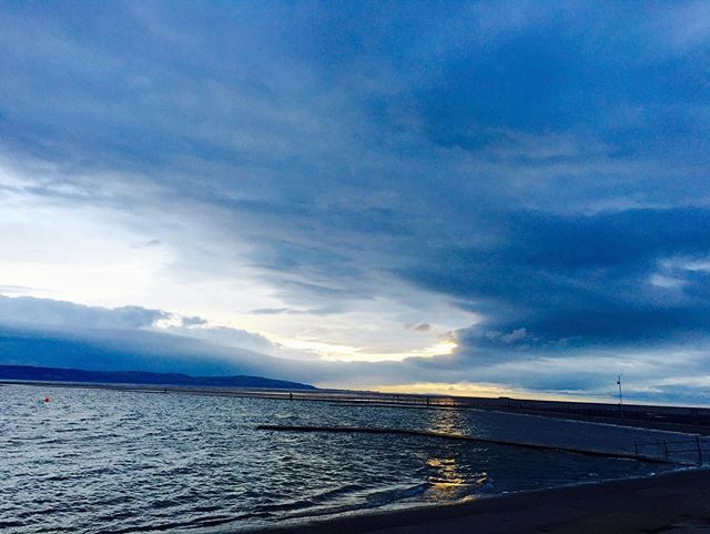 Beautiful evening in West Kirby...come and join us for dinner...we are here from 6 PM till 11 PM