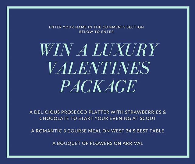 Hi everyone, its competition time again! With Valentines fast approaching we have teamed up with our good friends at @scoutwestkirby  to present a fantastic prize for a lucky couple! 🍾🍸👌🥂 Just post your name in the comment section below to have a chance to win! #prosecco #westkirby #yum #prize #couplegoals #flowers #freebies #valentinesday