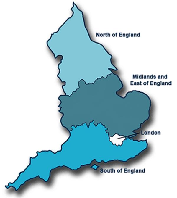 NHS England Regions