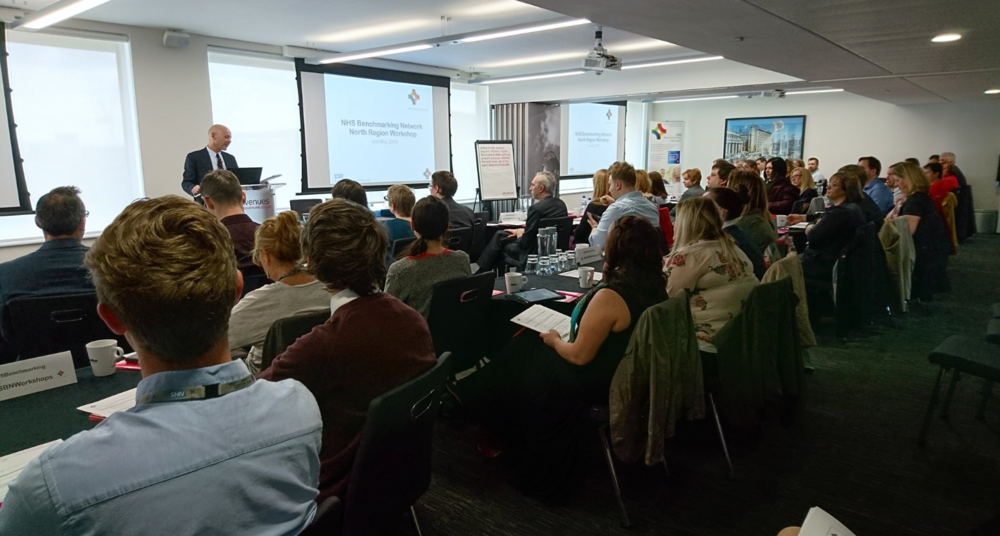 "North Regional Event, 3rd May 2018  ""It was great to have an event up North. Brilliant opportunity to meet members of NHS Benchmarking Network Team. Loved the workshop…and all presentations were clear and informative. Fab opportunity to discuss daily pressures and obtain an understanding of what is happening elsewhere."""