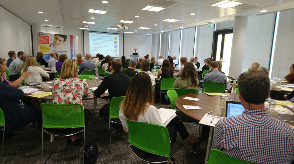 "South Regional Event, 15th May 2018  ""Excellent examples from peers on projects that are being undertaken. Fantastic insight from NHS Benchmarking Network on drivers of trends."""