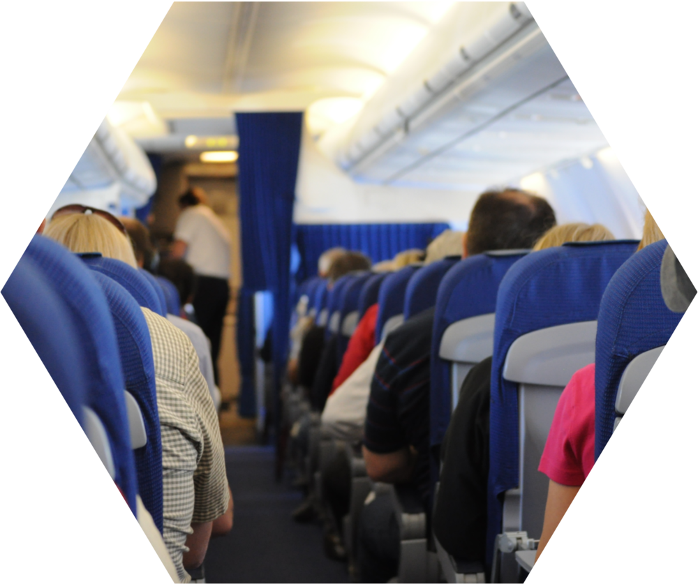 comfort AND quality - Self-cleaning fabric and high quality interior can add value to each plane or helicopter. Moreover it reduces costs for cleaning and maintanence.