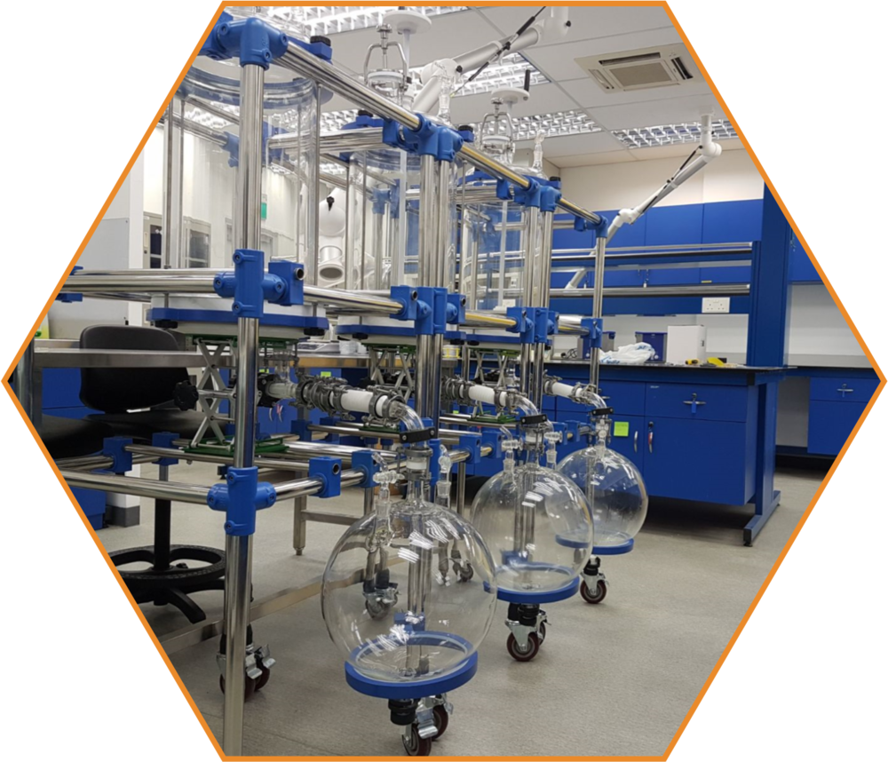 - We just opened our large-scale production facility. Here, we will leverage our eco-friendly and economical production process for premium quality graphene. This