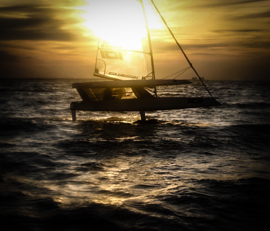Running out of light while testing...