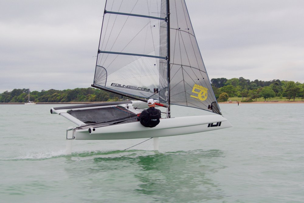 foiling 101 sailing