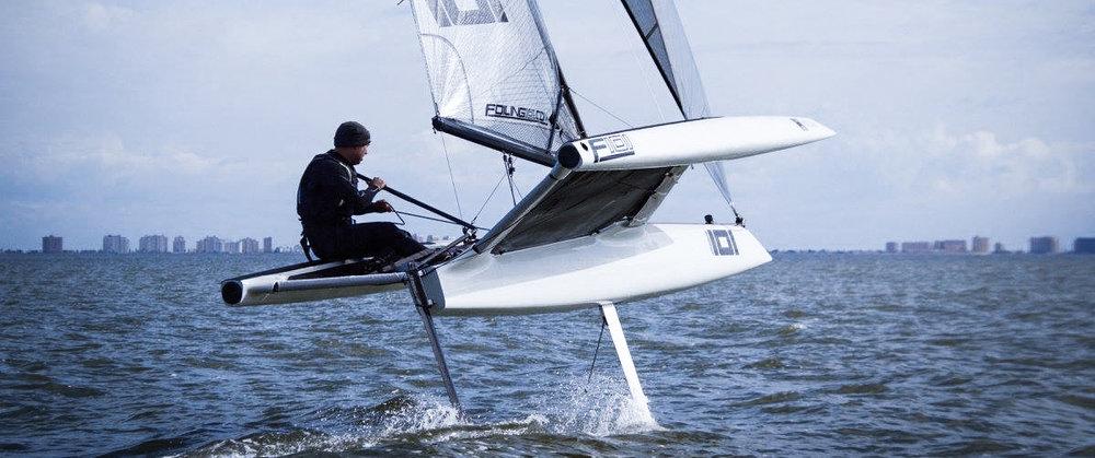 f101 sailing foiling
