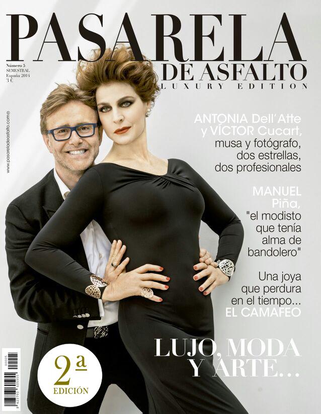 1.pasarela de asfalto, revista, antonia dell atte, victor cucart, moda, lujo, número 5, cinco, giorgio armani k, www.pasareladeasfalto
