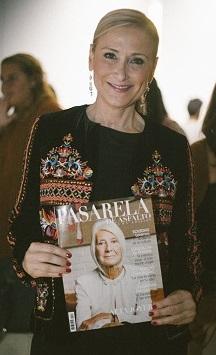 PasareladeAsfalto- CRISTINA CIFUENTES, revista, moda, lujo, posando MBFW, fashion week, lomba