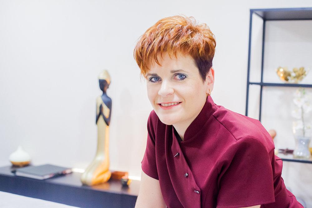 En fotografía: la Sra. Berta Martínez García, CEO de Espacio OM