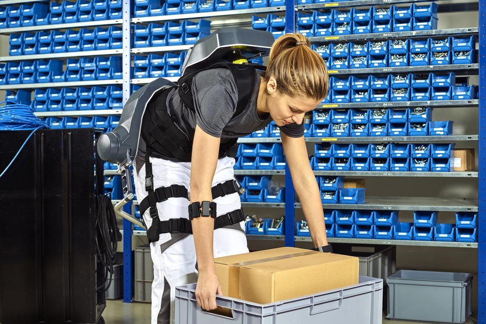 Steuerung des   German Bionic CRAY X  per EMG-Armband.
