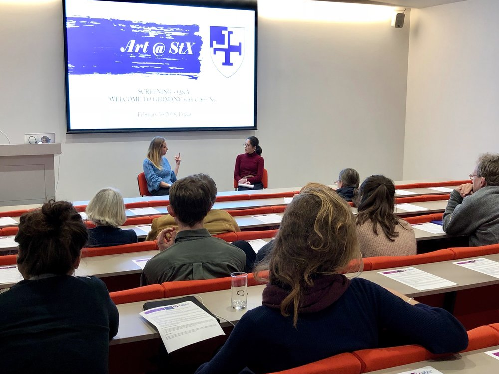 Screening and Q&A with BBC reporter Catrin Nye at St Cross College, University of Oxford on 16 February 2018