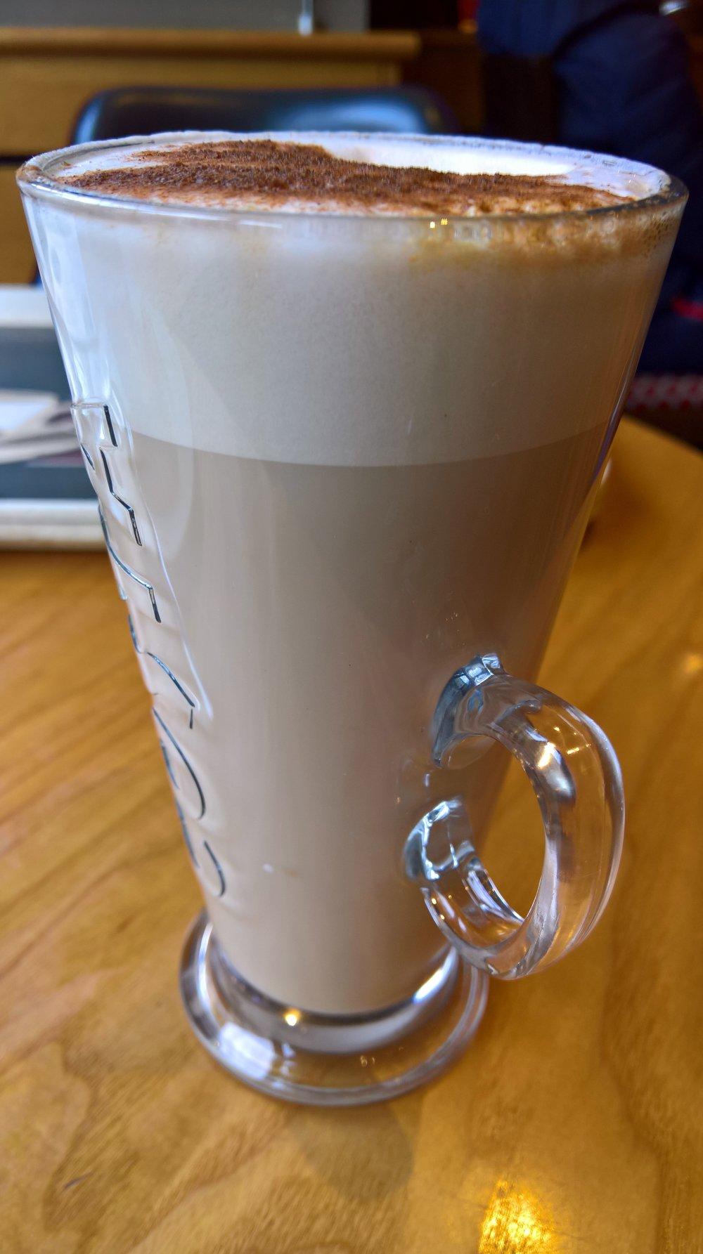 Chai latte.