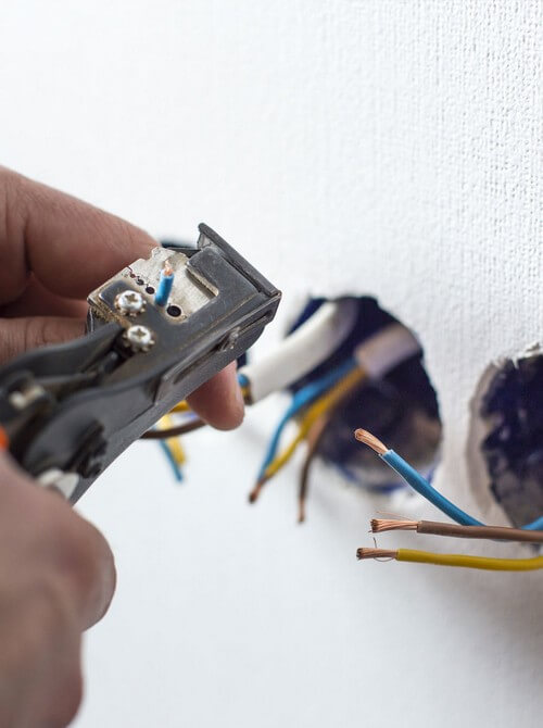 Rewiring - ensure your home meets the necessary safety regulations and quality standards